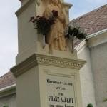 Templomkerti kereszt – közeli